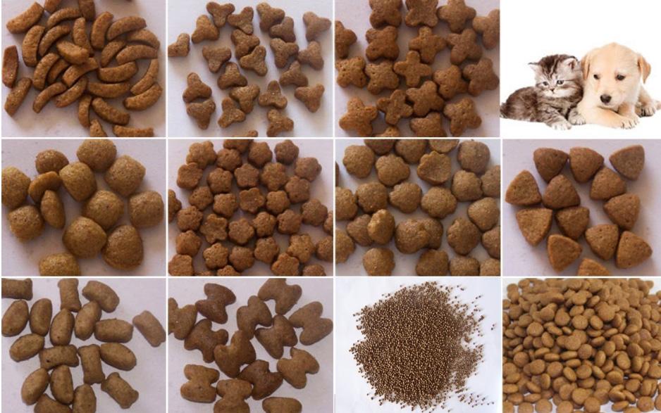 قیمت انواع ماشین آلات خط تولید غذای سگ